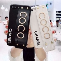 CHANEL COCO Popular iPhone Phone Cover Case For iphone 6 6s 6plus 6s-plus 7 7plus iPhone8 I