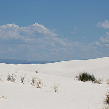 Landscapes Of White Sands 10 Art Print