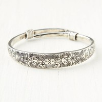 Free People Etched Skinny Bracelet