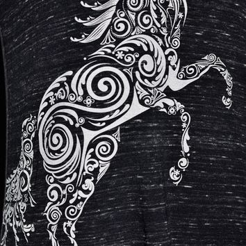 Paisley Pony Tank Top T-shirt