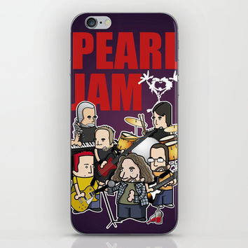 PJ iPhone & iPod Skin by Vicente Mateo Serra