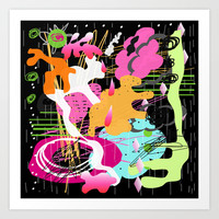 Splat Rx Art Print by K_c_s