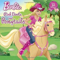 Pink Boots and Ponytails Barbie NOV