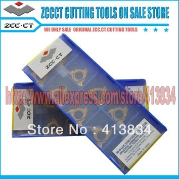 Free Shipping 50 units RT16.01N-G60P YBG201 PVD coated ZCC.CT Cemented Carbide CNC tool internal Threading inserts milling