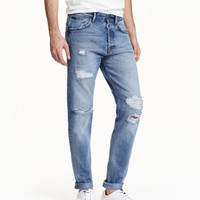 H&M Tapered Low Jeans $39.99