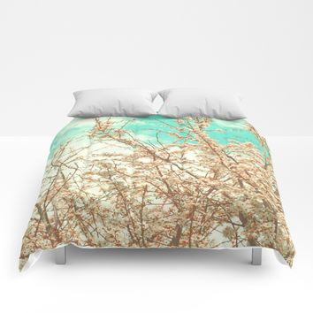 Blossoms Comforters by ARTbyJWP