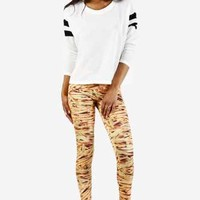 I Want French Fries Leggings by See You Monday - New Arrivals