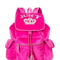 Royal Iconic Velour Backpack