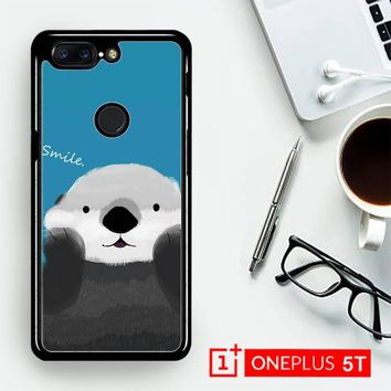 Cute Otter E0214  OnePLus 5T / One Plus 5T Case