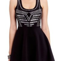 2B Breann Studded Circle Dress