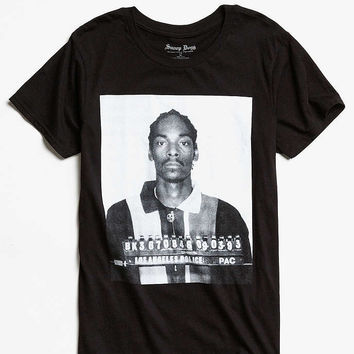 Snoop Dogg Mug Shot Tee - Urban Outfitters