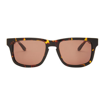 RILEY - TORTOISE FRAME - BROWN LENS