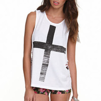 Lue Cross Muscle Tee at PacSun.com