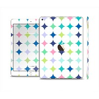 The Vibrant Fun Colored Pattern Hoops Inverted Polka Dot Skin Set for the Apple iPad Air 2