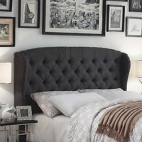 Mulhouse Furniture Feliciti Queen Upholstered Headboard