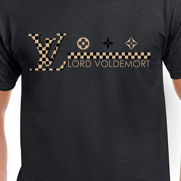 Harry Potter Gold Louis Vuitton Funny Lord Voldemort Parody T-Shirt Bad Never Looked So Good