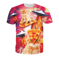 Bacon Pizza Cats T-Shirt