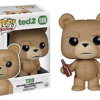 Funko Pop  Movies Vinyl Ted 2 Ted with Beer 188 5780