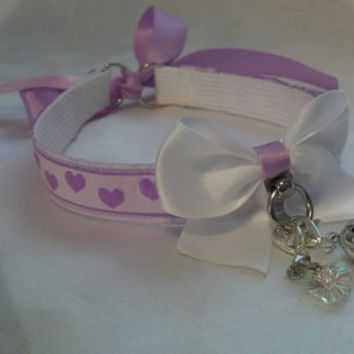 "Orchid 5/8"" Day Pet Play Collar!"