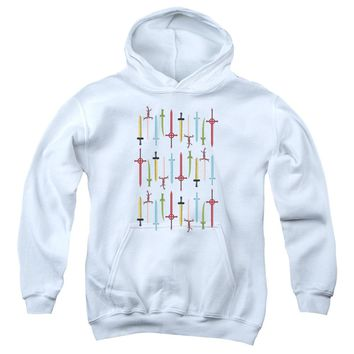 Adventure Time - Swords Youth Pull Over Hoodie