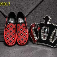 Givenchy Red and Black shoes man