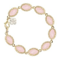 Jana Bracelet in Rose Quartz - Kendra Scott Jewelry