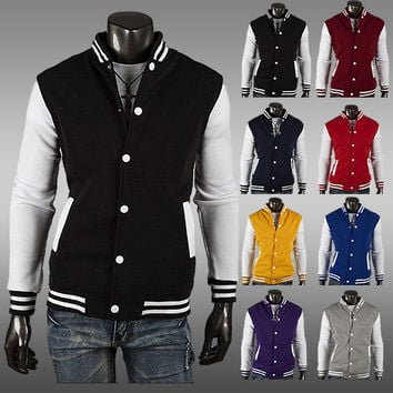 Hoodies Classics Men Slim Jacket [6528702211]