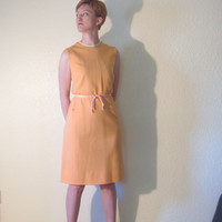 MOD 60s Scooter Dress. Shift Dress. Size M.