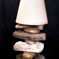 BoGaLeCo.com / Ligths / Lamps / driftwood / Small head lamp