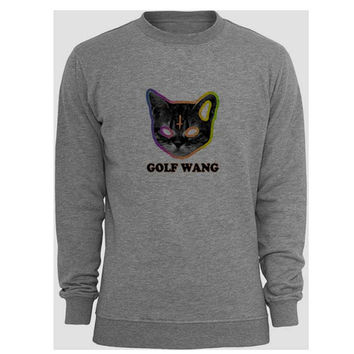 golf wang sweater Gray Sweatshirt Crewneck Men or Women for Unisex Size with variant colour