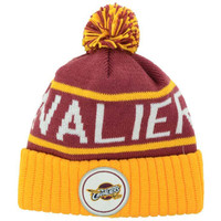 Cleveland Cavaliers NBA High 5 Cuffed Pom Knit