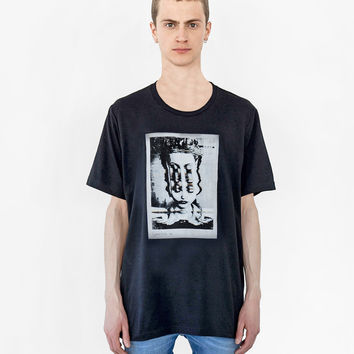 Convince Me Tee in Faded Black