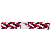 New England Patriots NFL Braided Head Band 6 Braid