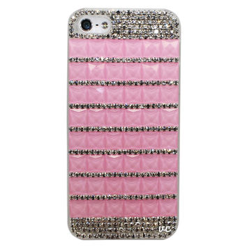 ANGEL PINK CRYSTAL PHONE CASE