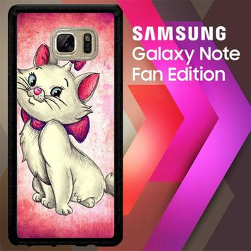 Marie Aristocats V0205 Samsung Galaxy Note FE Fan Edition Case