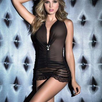 LMFON Later Baby Babydoll with G-String