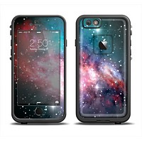 The Colorful Neon Space Nebula Apple iPhone 6 LifeProof Fre Case Skin Set