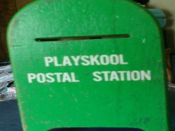 Vintage Playskool Postal Station by fugeecat on Zibbet