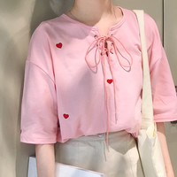 LIL HEART TOP (3 colors)