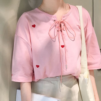 LIL HEART TOP