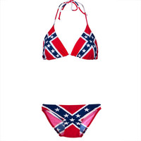 Rebel Flag Bikini Set