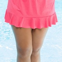 Women's Plus Size Swimwear - Captiva Separates Textured Dream Plus Size Swim Skirt