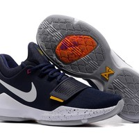 Nike Zoom Paul George   PG 1  Royal Blue Basketball Shoes