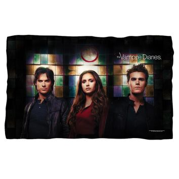 Vampire Diaries/Stained Glass Fleece Blanket