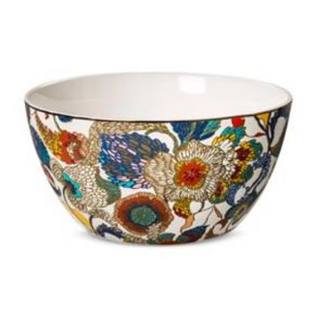 Stoneware Serving Bowl 50oz Floral - Threshold™ : Target