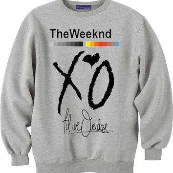 the weeknd xo for sweatshirt Mens and Girls, sweater available S - XXXL