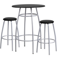 Flash Furniture Bar Height Table and Stool Set [YB-YJ922-GG]