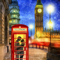 Romance In London By Starlight