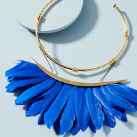 Artemis Feather Collar Necklace