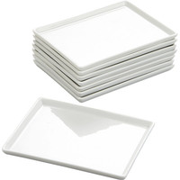 set of 8 cuatro small platters